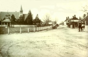 Chapel Rd with St Luke's c1920